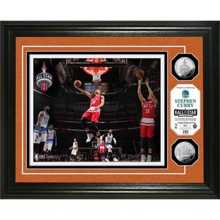 Stephen Curry 2016 NBA All-Star Game Silver Coin Photo Mint