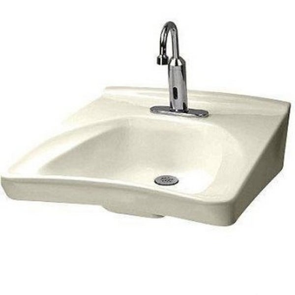 Toto Wall Mount Vitreous China Bathroom Sink LT308.11#01 Cotton ...
