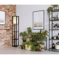 Titan Tall Shelf Floor Lamp