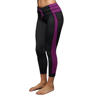 Women's Heathered Purple Athletic Leggings