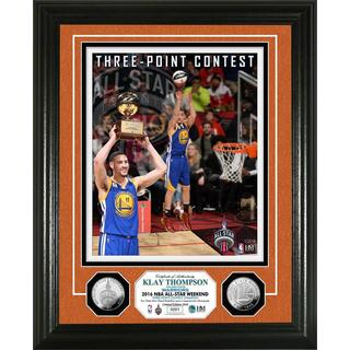 Klay Thompson 2016 Three-Point Contest Champion Silver Coin Photo Mint