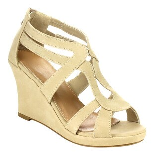 Beston Cc29 Wedge Sandals
