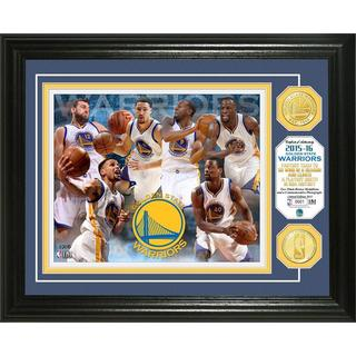 Golden State Warriors 'Season Record' Bronze Coin Photo Mint