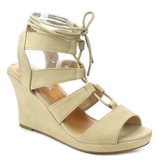 Beston Cc36 W Gladiator Wedge Sandals