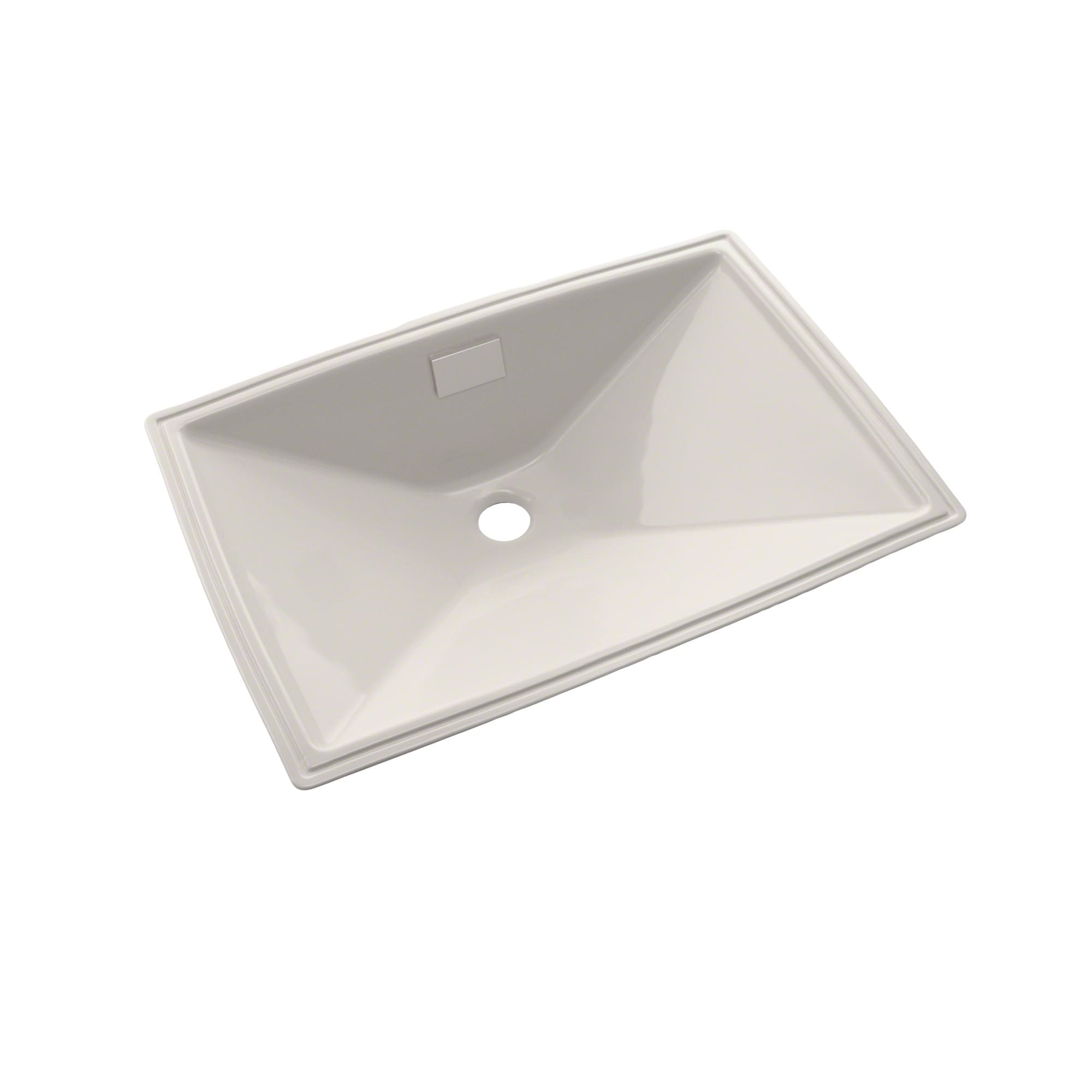 Shop Toto Lloyd Rectangular Undermount Bathroom Sink Colonial