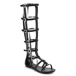Bamboo Sacred-20m Knee High Gladiator Sandals