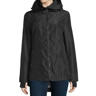 Laundry by Shelli Segal Black Windbreaker