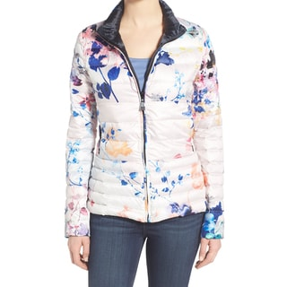 Dawn Levy Sophie Floral Reversible Packable Coat