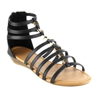 Beston CC13 Women's Gladiator Wedge Sandals