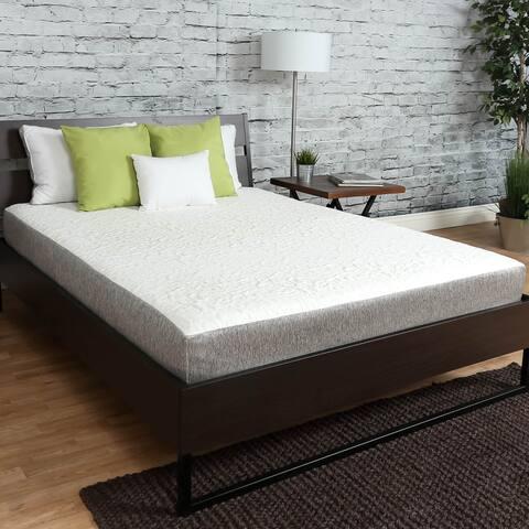 Premier Sleep Products 8-inch Firm Graphite Gel Memory Foam Mattress