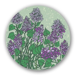 Green/ Purple Custom Printed Lazy Susan