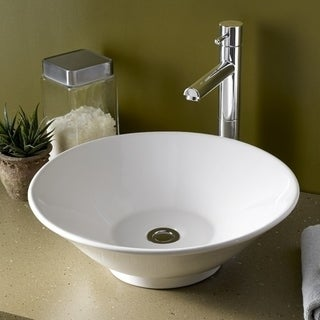 American Standard Celebrity Vessel Porcelain 17.00 17.00 Bathroom Sink 0514.000.020 White