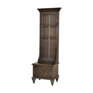 Dimond Home Tobin Hall Tree In Heritage Grey Stain