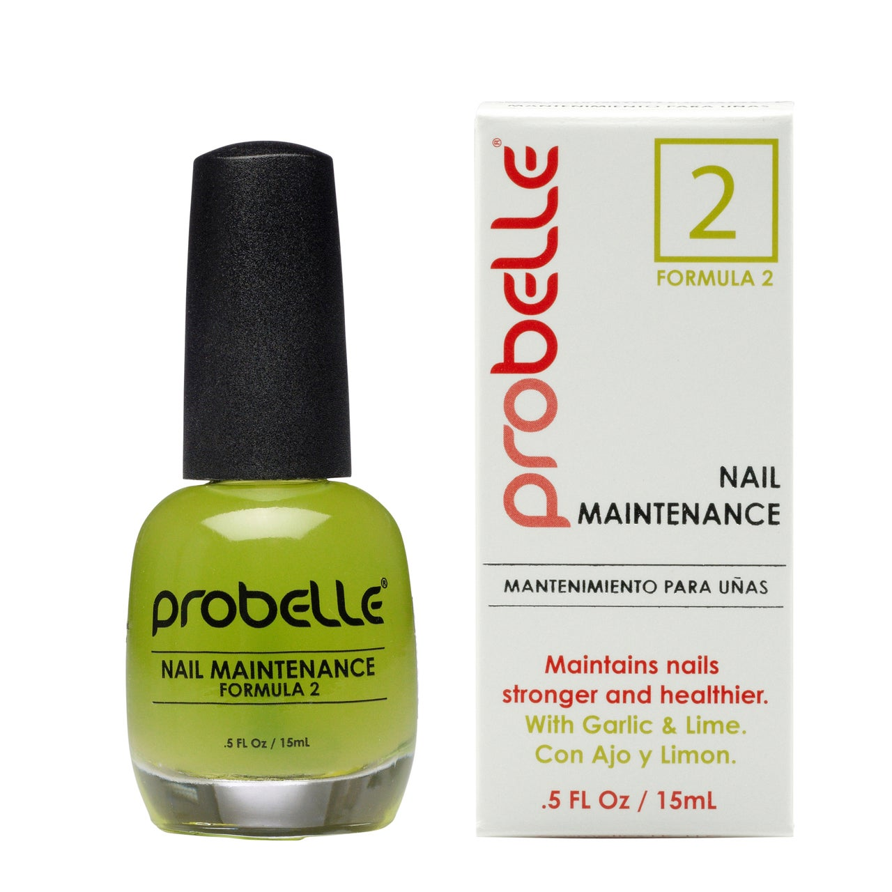 Probelle Nail Maintenance with Garlic and Lime (Formula 2...