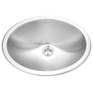 houzer opus undermount steel bathroom sink cho18001 stainless steel