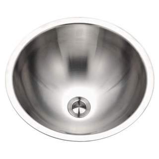 Houzer Club Bathroom Sink CRO-1620-1 Stainless Steel