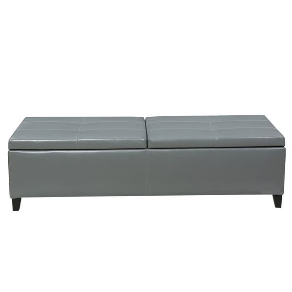 Superb Shop Alfred Faux Leather Large Storage Ottoman Bench By Ocoug Best Dining Table And Chair Ideas Images Ocougorg