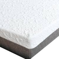 Premier Sleep Products Medium Firm 10 inch Cal king size Graphite Gel Memory Foam Mattress