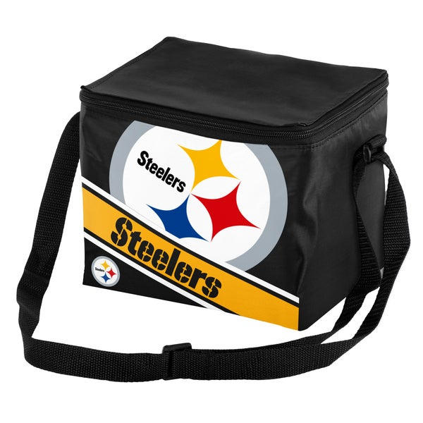 Shop Pittsburgh Steelers 6-Pack Cooler - Free Shipping On Orders Over  45 -  Overstock.com - 11513103 d0ae031cb