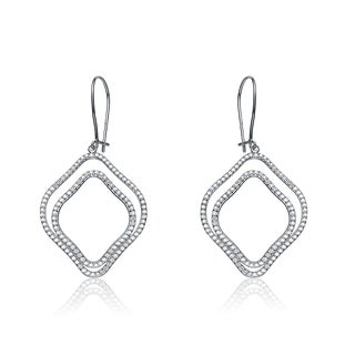 Collette Z Sterling Silver Double Dangle Earrings