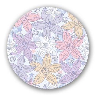 Yellow/ Pink/ Purple Custom Printed Lazy Susan