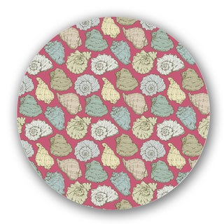 Green/ Pink Custom Printed Lazy Susan