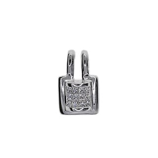 Kabella 18k White Gold 1/3ct TDW Diamond Pendant (G-H, SI1-SI2)