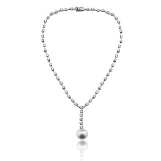 Collette Z Sterling Silver Hanging Sphere Necklace