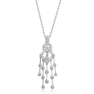 Collette Z Sterling Silver Cubic Zirconia Dream Catcher Necklace