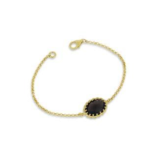 Collette Z Rose Gold Overlay Gemstone Bracelet