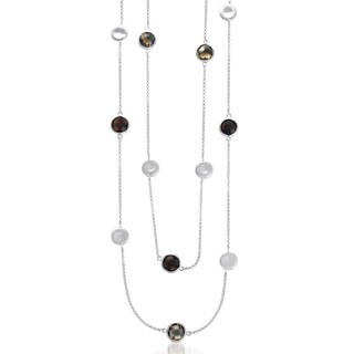 Collette Z Sterling Silver Ball and Strand Necklace