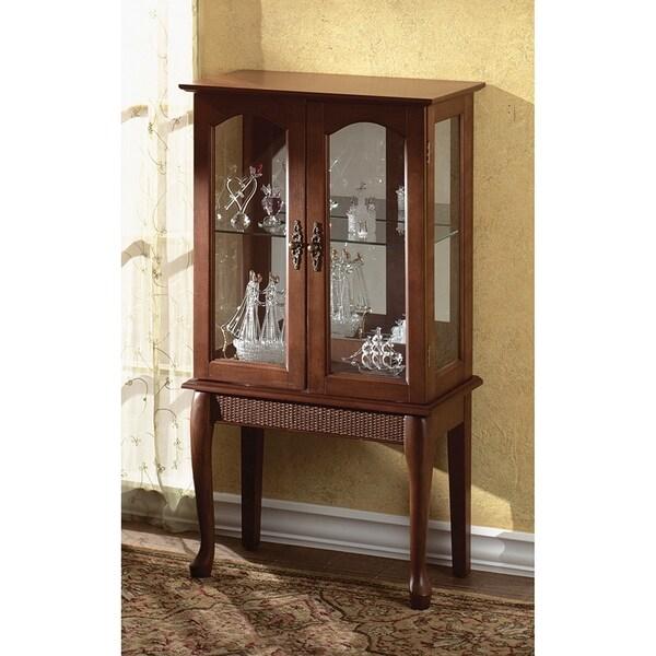 Rosemary 2 Door Curio Cabinet Free Shipping Today