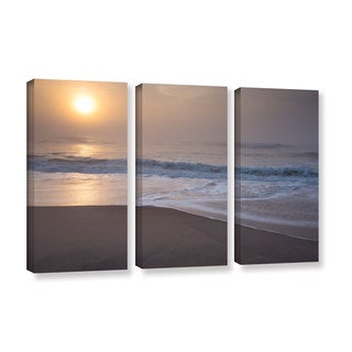 ArtWall Steve Ainsworth's 'Through The Fog III' 3-piece Gallery Wrapped Canvas Set