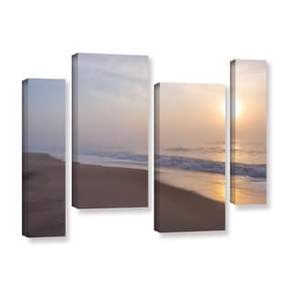 ArtWall Steve Ainsworth's 'Through The Fog II' 4-piece Gallery Wrapped Canvas Staggered Set