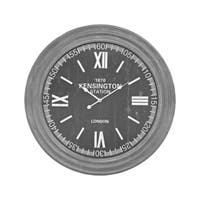 Sterling Home London Wall Clock In Preda Aged Grey