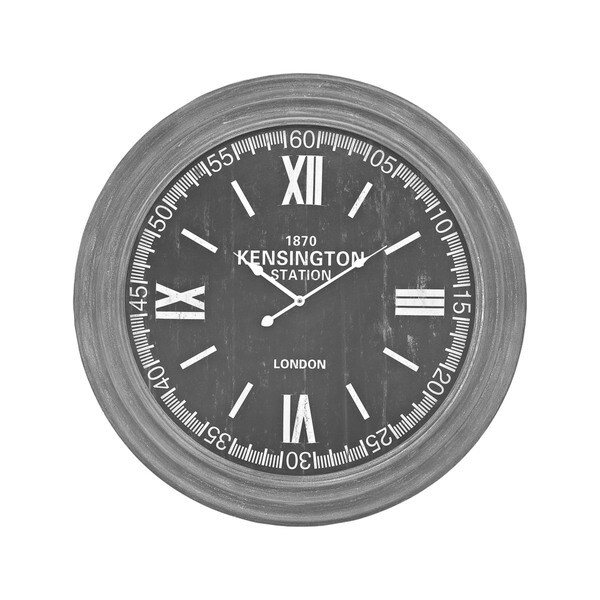 Sterling Home London Wall Clock in Preda Aged Grey. Opens flyout.