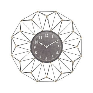 Sterling Home St. Moritz Wall Clock