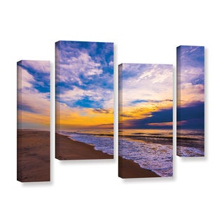 ArtWall Steve Ainsworth's 'The Long Way' 4-piece Gallery Wrapped Canvas Staggered Set