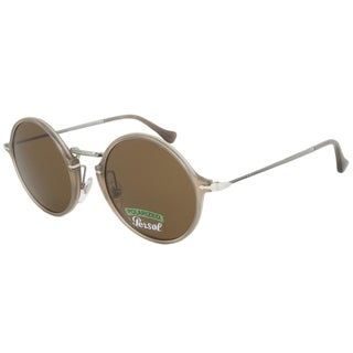 Persol PO3091SM 952/57 Round Polarized Sunglasses