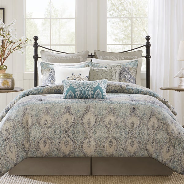 Harbor House Sanya Blue 4-piece Comforter Set