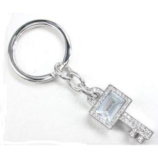 Heim Concept Key Shaped Key Fob - Clear Crystal