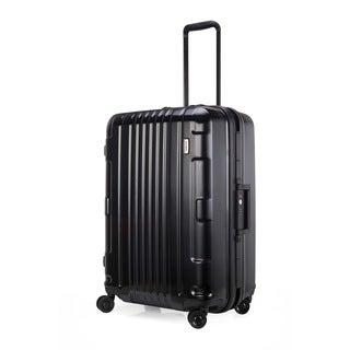 Lojel Kozmos Frame 26-inch Medium Black Hardside Upright Spinner Suitcase