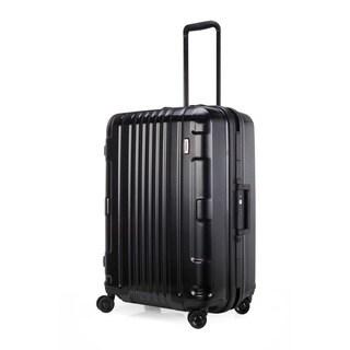 Lojel Kozmos Frame 26-inch Medium Black Hardside Upright Spinner Suitcase
