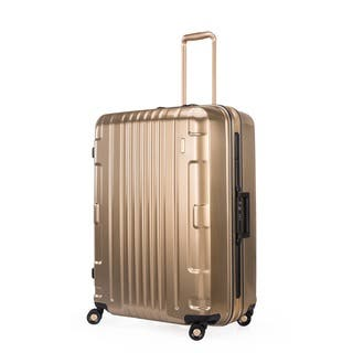 Lojel Kozmos Frame 29-inch Large Gold Hardside Upright Spinner Suitcase|https://ak1.ostkcdn.com/images/products/11517333/P18467147.jpg?impolicy=medium