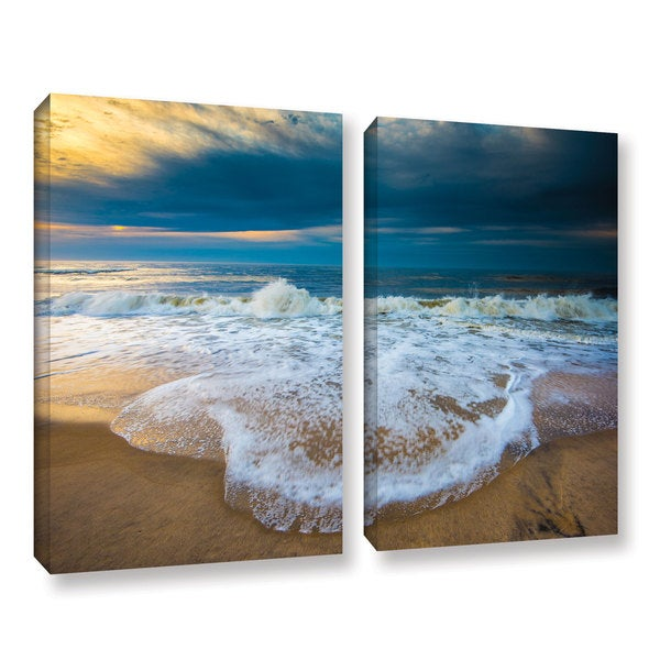 ArtWall Steve Ainsworth's 'Never Ending' 2-piece Gallery Wrapped Canvas Set