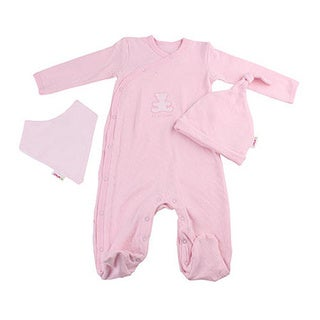 Minene Adorable Baby Girl 0-3 months Pink Layette Ice Cream Tub Gift Set