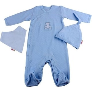 Minene Adorable Baby Boy 0-3 months Blue Layette Ice Cream Tub Gift Set