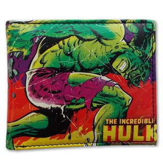Marvel Comics Close Up Hulk Wallet