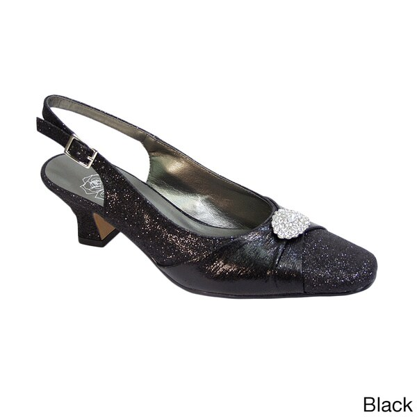 FLORAL Elaine Women's Extra Wide Width