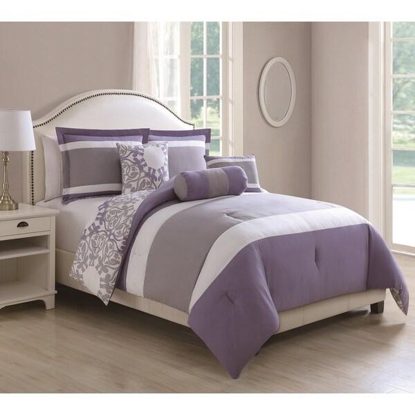 Milan Reversible 6-piece Comforter Set